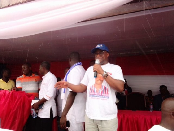 Amewu is NPP Parliamentary Candidate For Hohoe