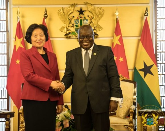 Chinese Vice Premier and President Akufo-Addo