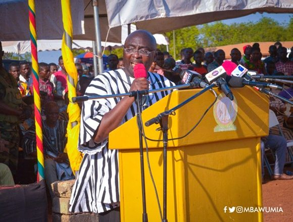 """What Legacy Did John Mahama Leave For The North As President?"" Dr. Bawumia Asks"