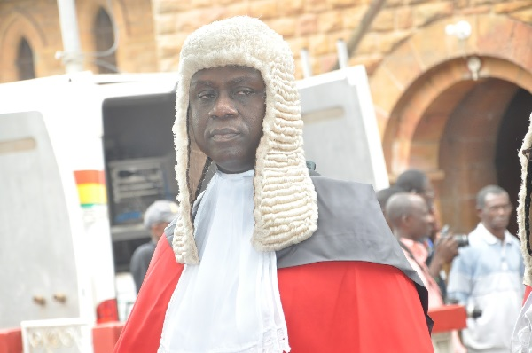 President Nominates Justice Anin Yeboah As New Chief Justice
