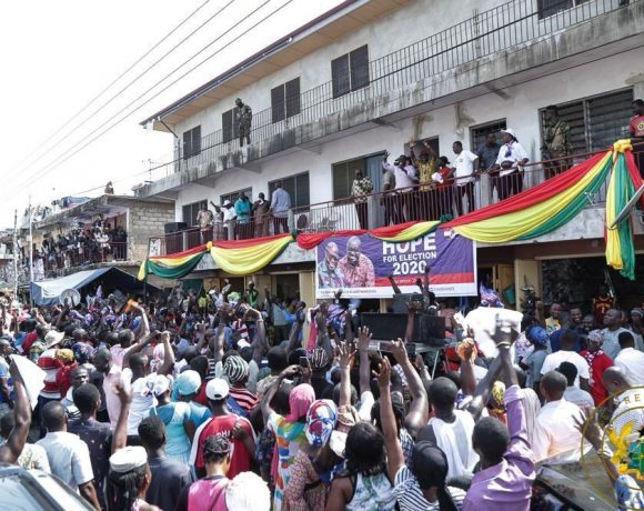 """DON'T TAKE THE LAW INTO YOUR OWN HANDS"""" – PRESIDENT AKUFO-ADDO TO GUTA"""
