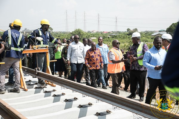 Tema-Mpakadan Railway Line To Be Completed In August 2020