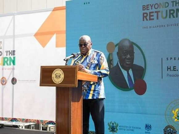 """PRESIDENT AKUFO-ADDO LAUNCHES """"BEYOND THE RETURN"""" INITIATIVE"""