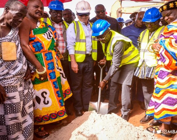 VP Bawumia cuts sod for critical Benchema Junction- Adjoafua road in W/N/R