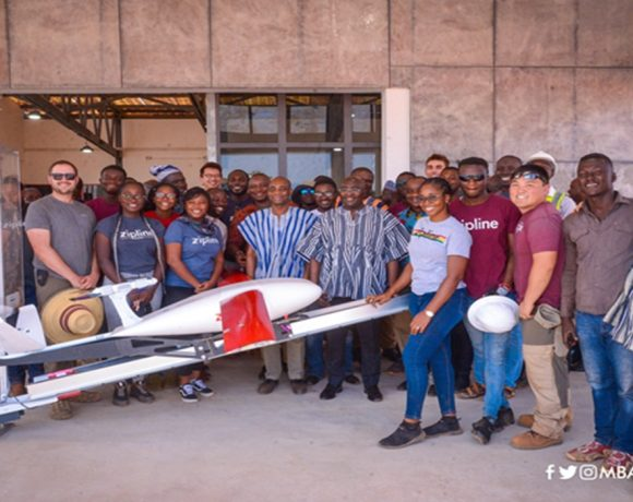 VP Bawumia Inspects Third Zipline Drone Distribution Centre