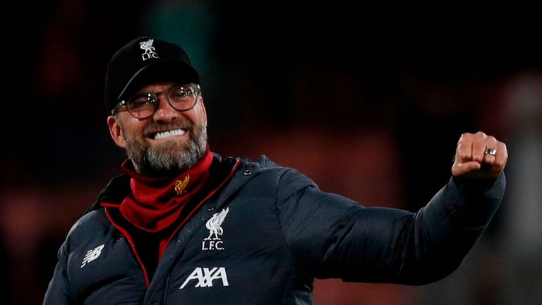 Jurgen Klopp: Liverpool fans can sing 'We're gonna win the league' but nothing changes