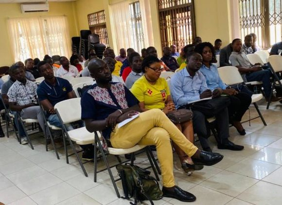 GFA ORGANISES ONE-DAY WORKSHOP FOR MEDIA OFFICERS