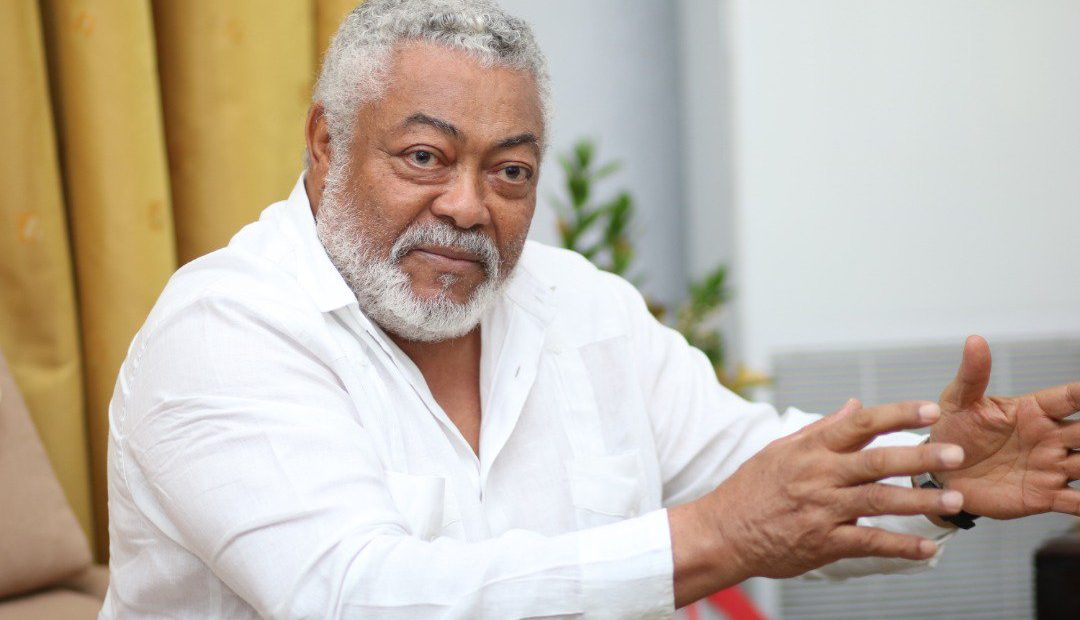 Rawlings Backs Farmers In Production Of Local Rice