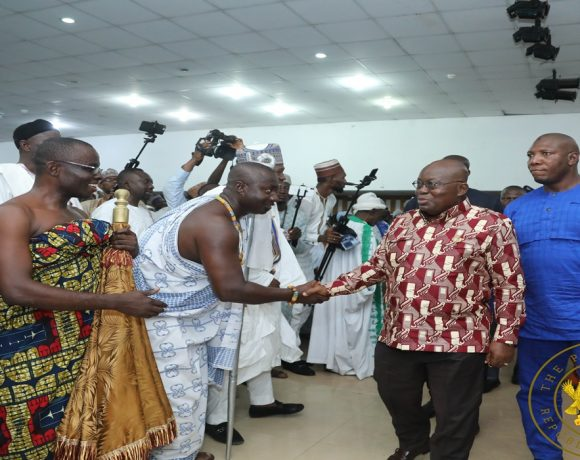 """""""Don't Be Used By Irresponsible Politicians For Violence In 2020"""" – President Akufo-Addo To Muslim Youths"""
