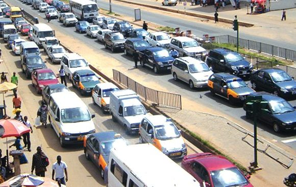 The Hectic Traffic During Xmas Season In Accra