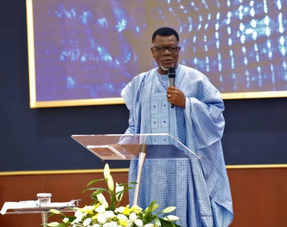 Dr Mensa Otabil, General Overseer of International Central Gospel Church (ICGC)