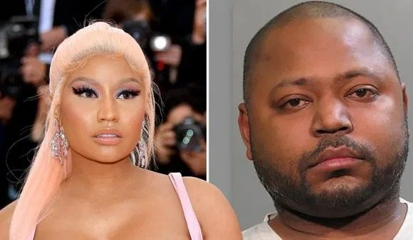 Nicki's brother was finally given his sentence today for raping an 11 year old (Picture: Getty/Handout)