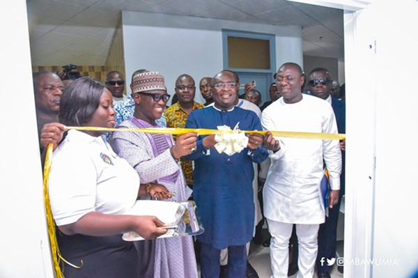 VP Bawumia Launches NPA's Digital Product Tracking Command Centre