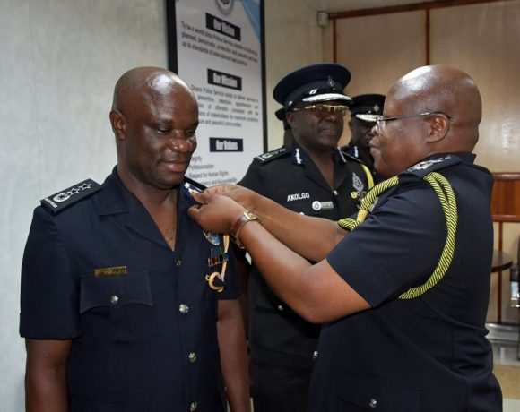 IGP Decorates Newly Promoted COPs and DCOPs