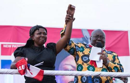 NPP confirms Lydia Seyram Alhassan as the party's 2020 Parliamentary candidate for Ayawaso West Wougon