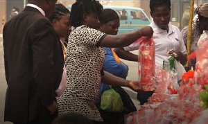 Mad rush for Valentine's gift in Accra