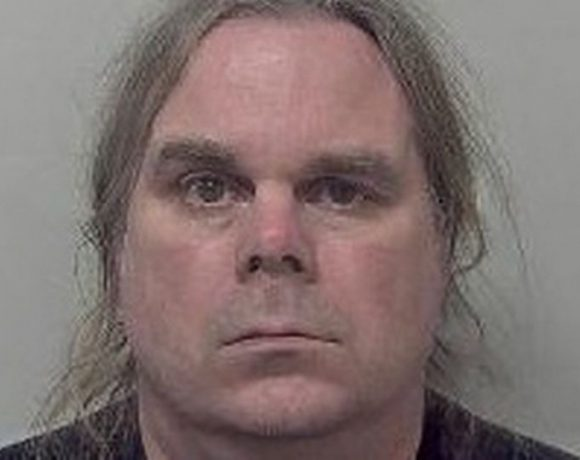 Timothy Davies, 45, was sentenced to six years in jail (Image: British Transport Police)