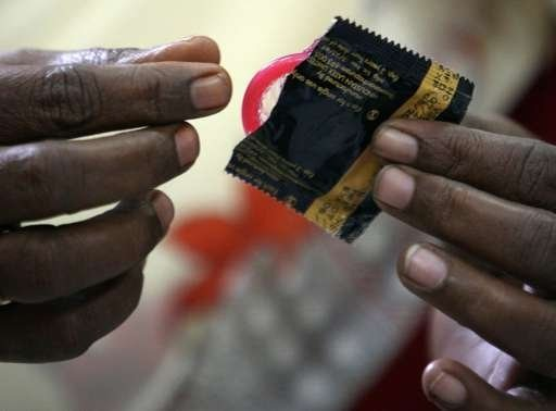 A majority of the respondents said they used a condom to prevent sexually transmitted diseases