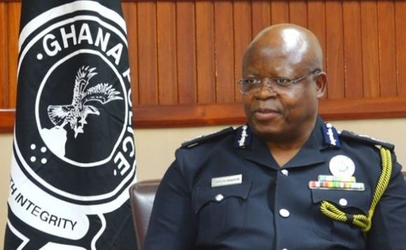 Acting Inspector-General of Police, James Oppong Buanuh.
