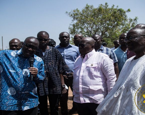 President Akufo-Addo Commends GWCL For Rehabilitating Salaga Water System Project