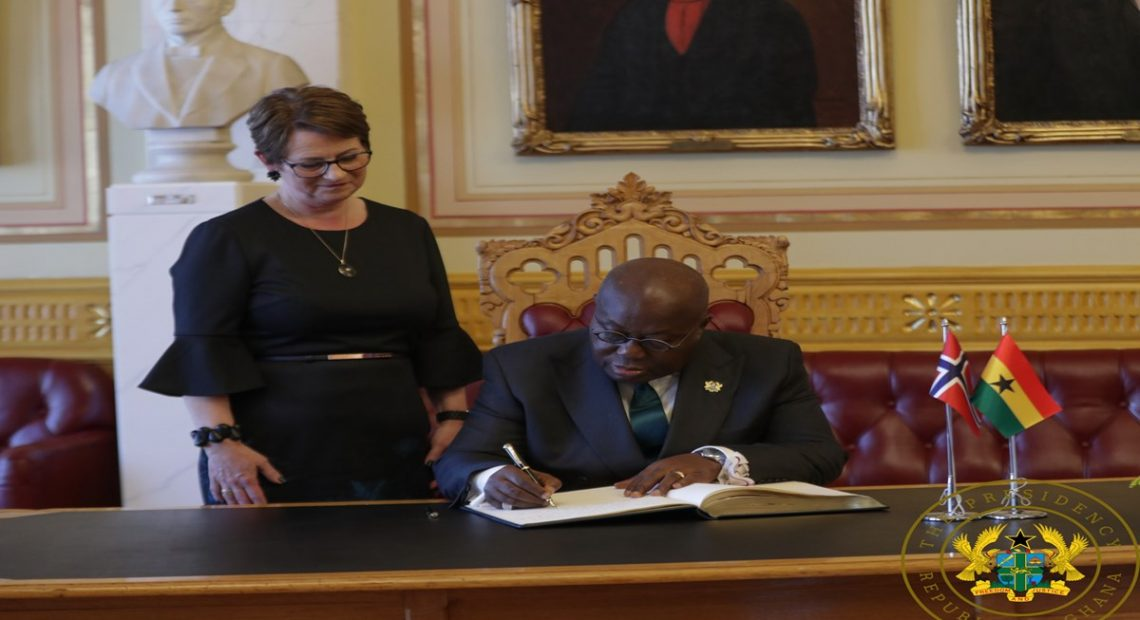 Ghana, Norway Pledge To Reinforce Ties Of Co-Operation