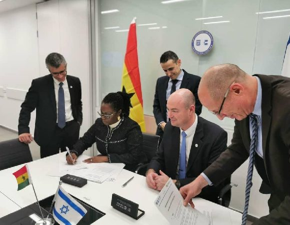 Ghana Signs MoU With Israel To Strengthen Cybersecurity