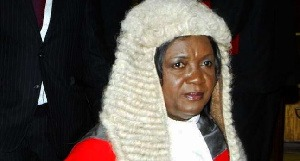 Georgina Theodora Wood is Ghana's first female Chief Justice
