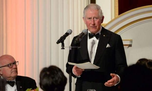 Prince Charles's last public appearance was on 12 March in London