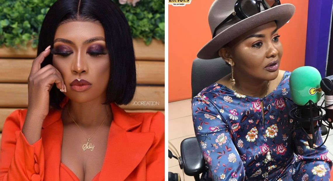 SELLY GALLEY WILL GIVE BIRTH TO TWINS - NANA AMA MCBROWN