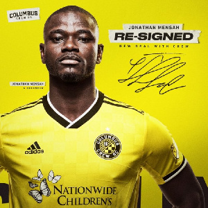 Jonathan Mensah leads Columbus Crew to MLS Eastern Conference finals