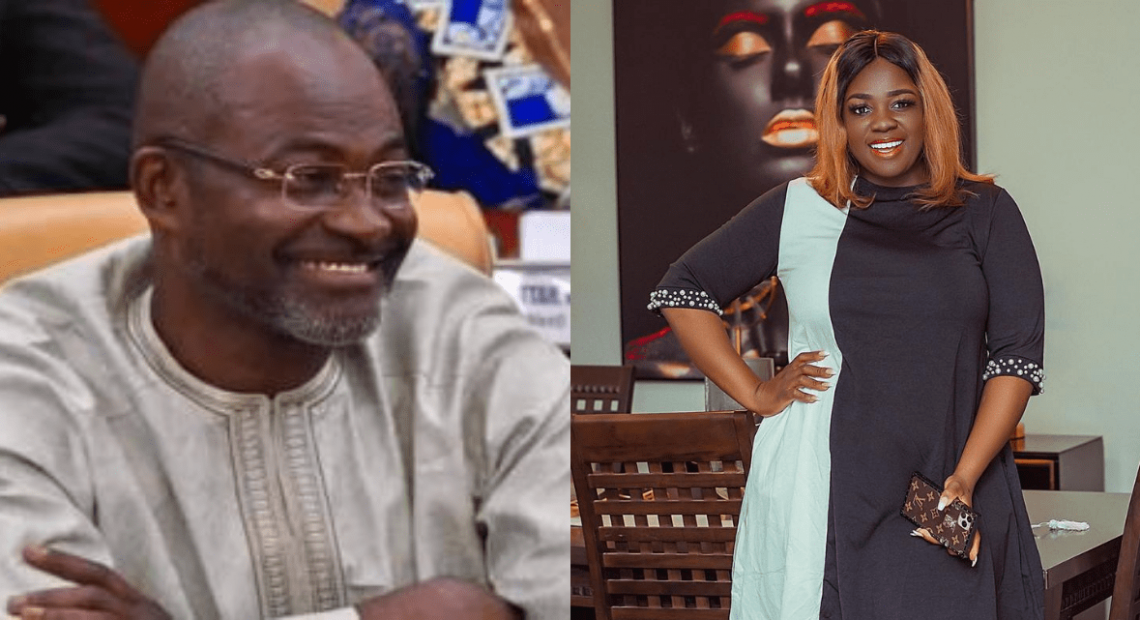 """TRACEY BOAKYE BLASTS KENNEDY AGYAPONG FOR USING NPP CAMPAIGN PLATFORM TO ALLEGE THAT JOHN MAHAMA IS HER """"PAPA NO"""""""