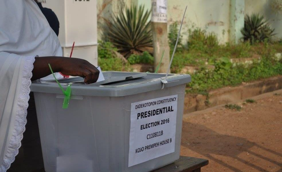 Weija Gbawe: Late Arrival of Electoral Materials delays process