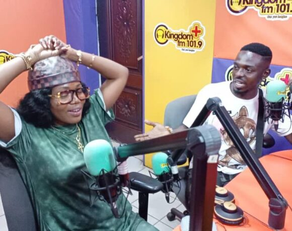 COMEDIAN WARIS PROPOSES TO MZBEL LIVE ON RADIO