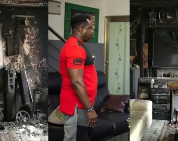 IT IS OF THE LORD'S MERCIES THAT I WAS NOT CONSUMED WHEN MY HOUSE GOT BURNT - KOO FORI