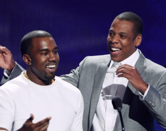 """KANYE WEST TIES JAY Z FOR MOST HIP HOP GRAMMYS FOLLOWING """"JESUS IS KING"""" WIN"""