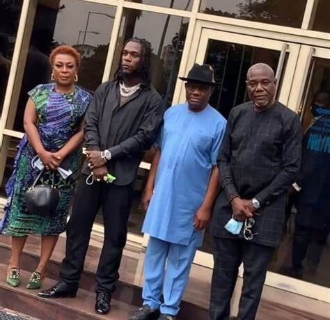 GOVERNOR GIFTS BURNA BOY, OTHER ARTISTES N10M EACH AT HOMECOMING IN PARTY HARCOURT
