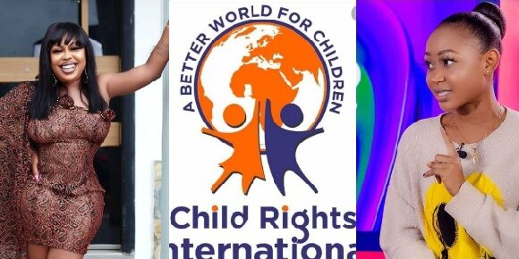 In the wake of this development, Humour therapist and comedian, Afia Schwarzenegger has congratulated and commended Child Rights International for good work
