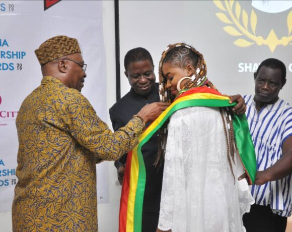 SHATANA APPOINTED AMBASSADOR TO FIGHT AGAINST NUDITY, PROSTITUTION, AND CHILD ABUSE IN GHANA