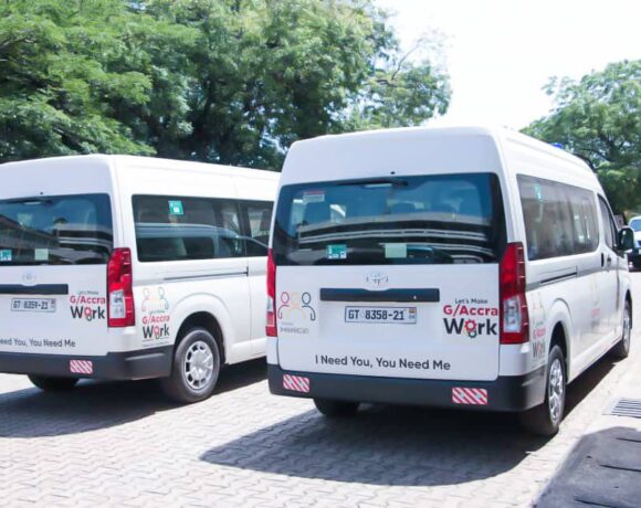 LET'S MAKE ACCRA WORK PROJECT' GETS BOOST. AS ZOOMLION DONATES BUSES