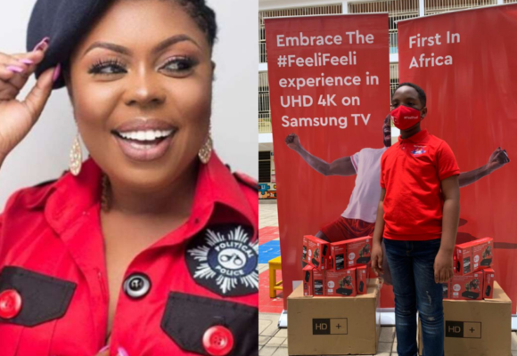 Ghanaians are hypocrites - Afia Schwar reacts to Oswald's our day