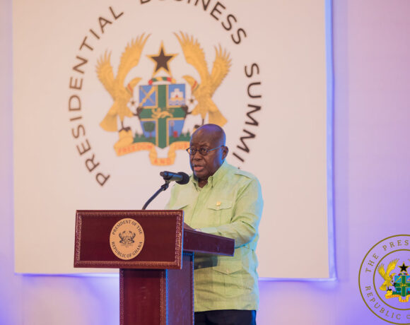 I'm establishing an enabling environment for your prosperity - President Akufo Addo to Private Sector
