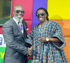Ghanaian man of God, Prophet Kumchacha, and Ghanaian traditional priest, Nana Kwaku Bonsam have settled their differences.